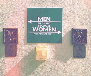 women, Right, and men image