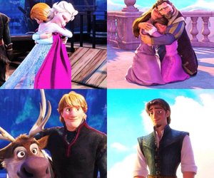 family, hug, and tangled image
