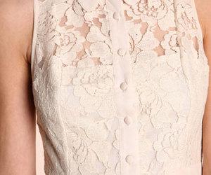 collar, dress, and fashion image