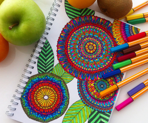 art, arts, and colorfull image