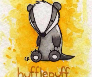 hufflepuff and harry potter image