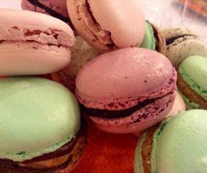 color, macaron, and paris image