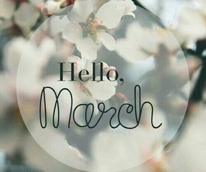 march, 2015, and goodbye february image