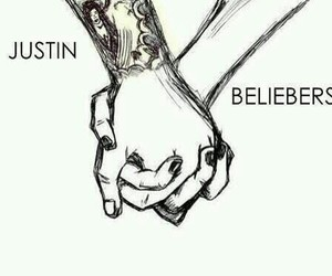 justin bieber, forever, and beliebers image