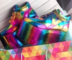 platforms, yru, and shoes image