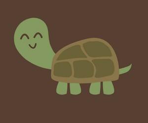animal, illustration, and turtle image