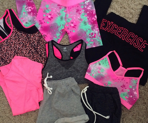 clothes, motivation, and pink image