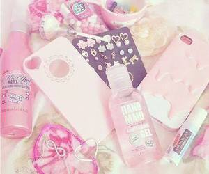 pink, girly, and case image