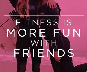 fitness and friends image