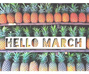 march and pineapple image