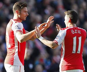 Arsenal, afc, and mesut Özil image