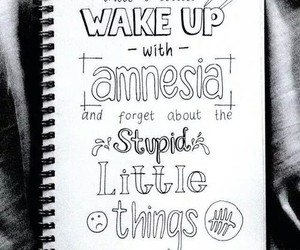5sos, amnesia, and Lyrics image