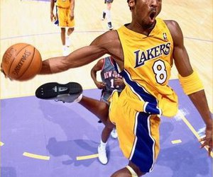 Basketball, dunk, and lakers image