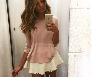 beauty, makeup, and outfit image