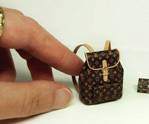 background, bag, and miniature image