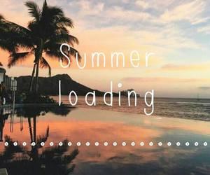 summer, sea, and Hot image