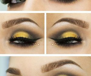 accessories, clothes, and eye make up image