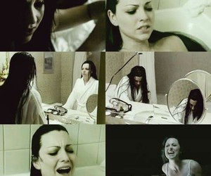 amy lee, evanescence, and pain image
