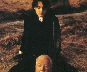 johnny depp, sleepy hollow, and head image