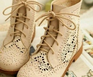 shoes, boots, and lace image