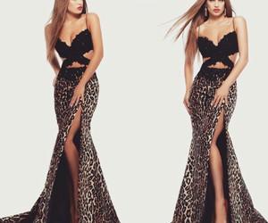 sherri hill, black dress, and long dress image