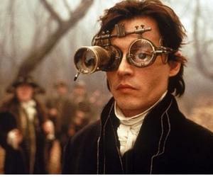 johnny depp, crazy, and detective image