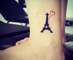 tattoo, paris, and tatoo image