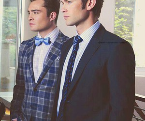 best friends, chuck bass, and nate and chuck image