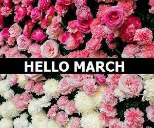 march and hello march image