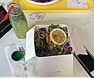 health, eat healthy, and mint lemonade image