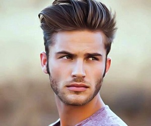 boy, handsome, and hair image
