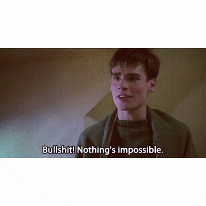 bullshit, movie, and imposible image