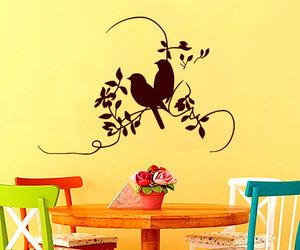 bird, decalsm walldecor, and home decor image