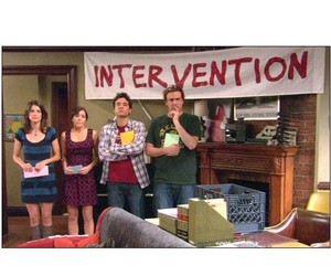 barney, himym, and intervention image