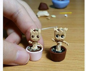 fimo, groot, and miniature image
