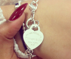 bracelet, jewellery, and nails image