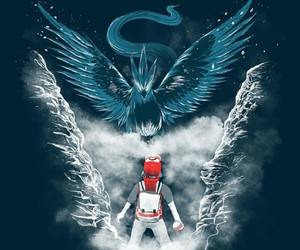 ice, pokemon, and red image
