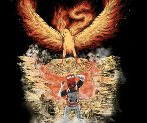 fire, pokemon, and red image