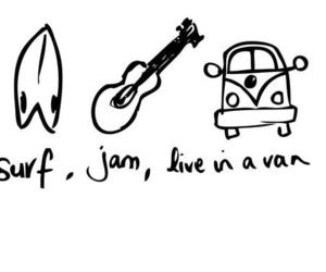 surf, jam, and vans image