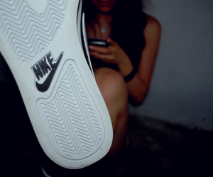 cool, nike, and shoes image
