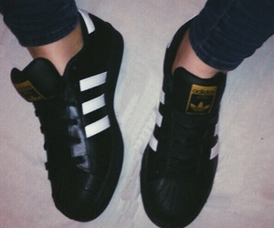 adidas, look, and sneaker image