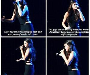 beauty, quote, and selena gomez image