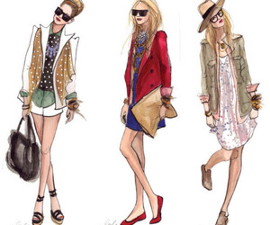 draw and fashion drawing image