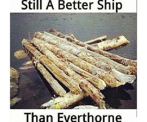 funny, ship, and sorry image