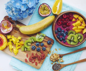 fitness, healthy, and fruit image