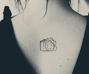 tattoo and camera image