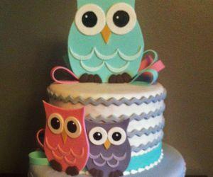 owl and cake image