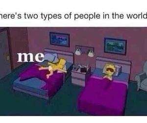 funny, sleep, and me image