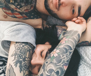 boy, couple, and perfect image