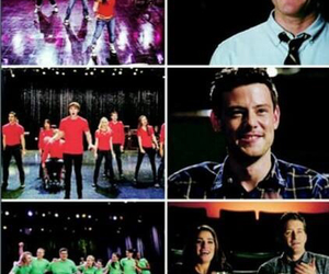 glee, lea michele, and tv show image